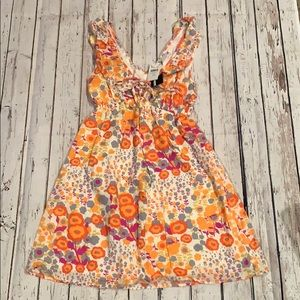 Necessary Objects floral dress Sz small
